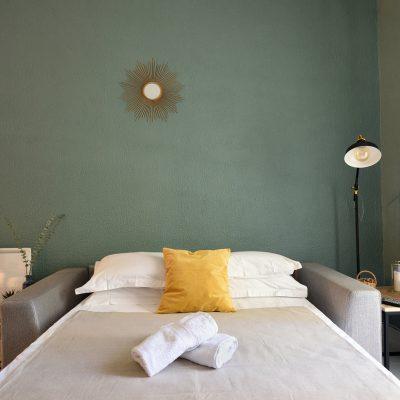 Canapé-lit en Luberon